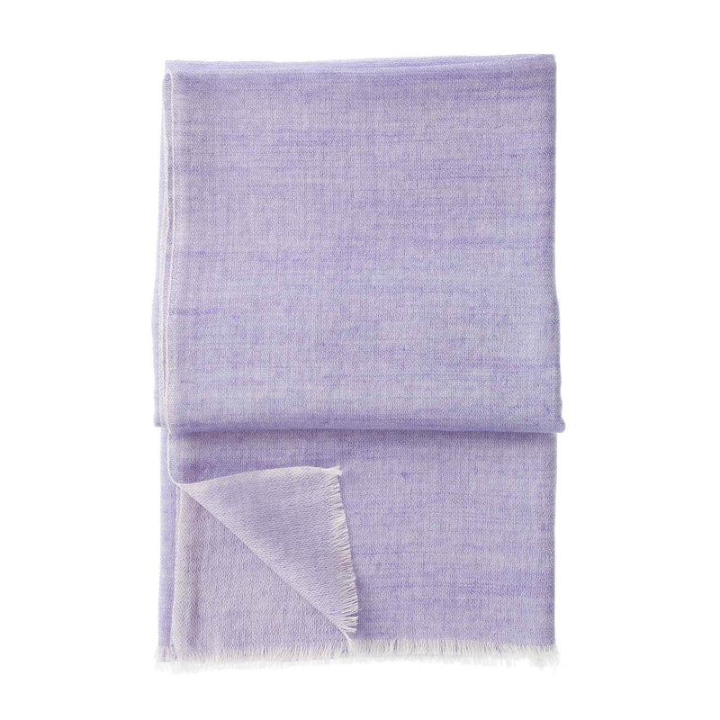 Buy Gossamer Cashmere Stoles Lavender From The Wool Company Online