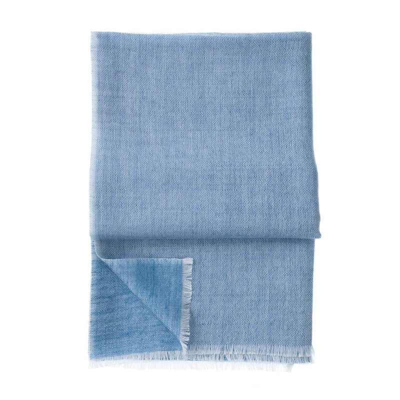 Gossamer Cashmere Stoles Teal -  - CLOTHING  from The Wool Company