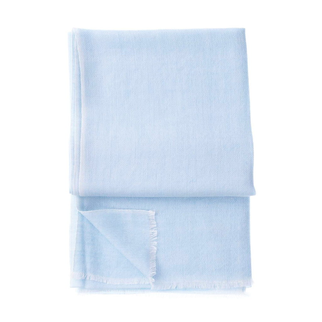 Gossamer Cashmere Stoles Winter Sky -  - CLOTHING  from The Wool Company