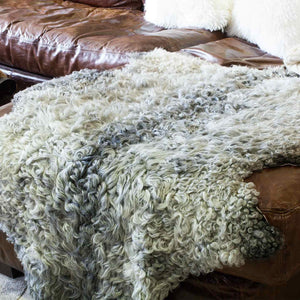 Gotland Swedish Sheepskin Extra Large -  - SHEEPSKIN  from The Wool Company