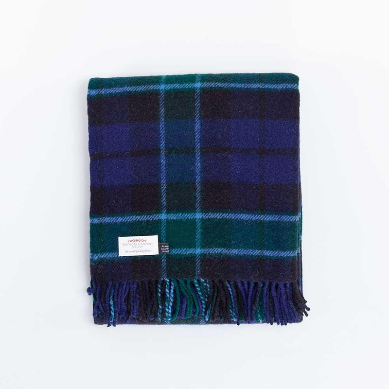 Graham of Menteith Tartan Check Pure New Wool Throw -  - LIVING  from The Wool Company