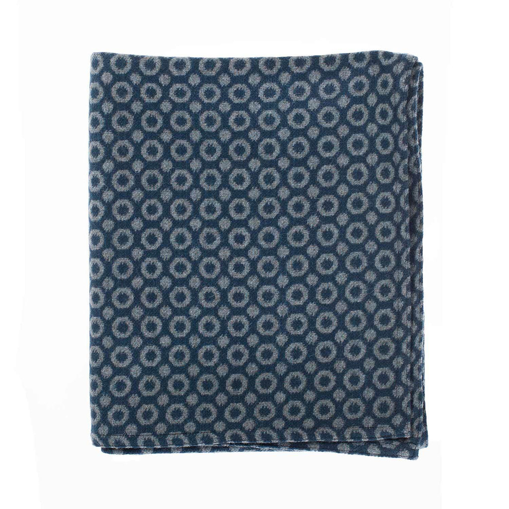 Halo Throw Teal -  - LIVING  from The Wool Company