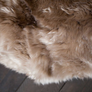 Hareem Sheepskin Bean Bag Taupe -  - SHEEPSKIN  from The Wool Company