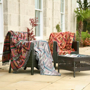 Buy Hebrides Merino Throw Jura From The Wool Company Online
