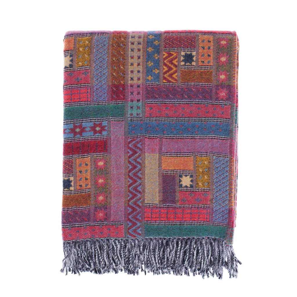 Hebrides Merino Throw Jura -  - LIVING  from The Wool Company