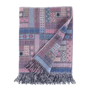 Hebrides Merino Throw Skye -  - LIVING  from The Wool Company