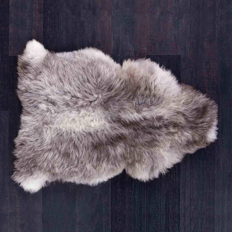 Herdwick Sheepskin Rugs Light Grey SHEEPSKIN The Wool Company