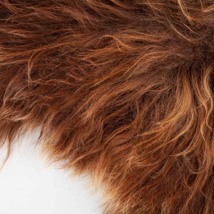 Buy Icelandic Double Sheepskin Golden Natural Brown From The Wool Company Online