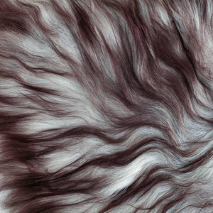Icelandic Double Sheepskin Natural Marbled Grey -  - SHEEPSKIN  from The Wool Company