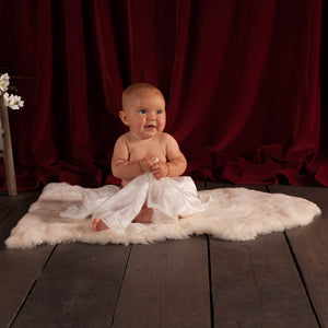 Ivory Baby Sheepskin -  - SHEEPSKIN  from The Wool Company