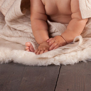 Buy Ivory Baby Sheepskin From The Wool Company Online