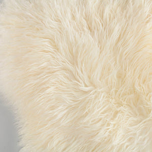 Buy Ivory Yeti Sheepskin Throw From The Wool Company Online