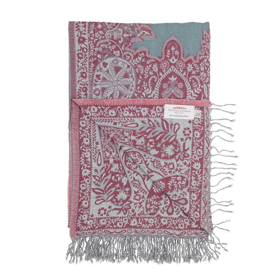 Jaipur Fine Wool Throw LIVING The Wool Company