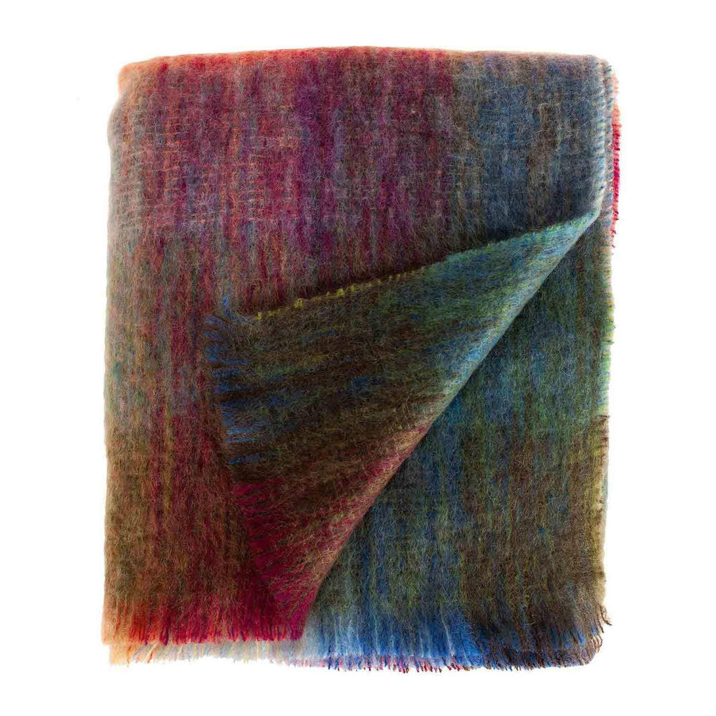 Buy Kaleidoscope Mohair Throw From The Wool Company Online