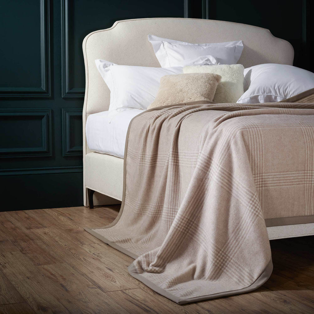 Kaschmir Superb Cashmere Blanket -  - LUXURY BEDDING  from The Wool Company