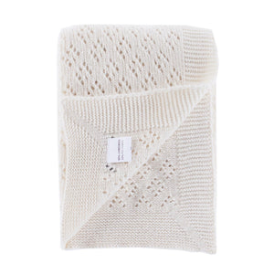 Lacy Lambswool Baby Shawl -  - BABY  from The Wool Company
