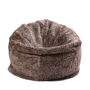 Large Sheepskin Bean Bag Taupe -  - SHEEPSKIN  from The Wool Company