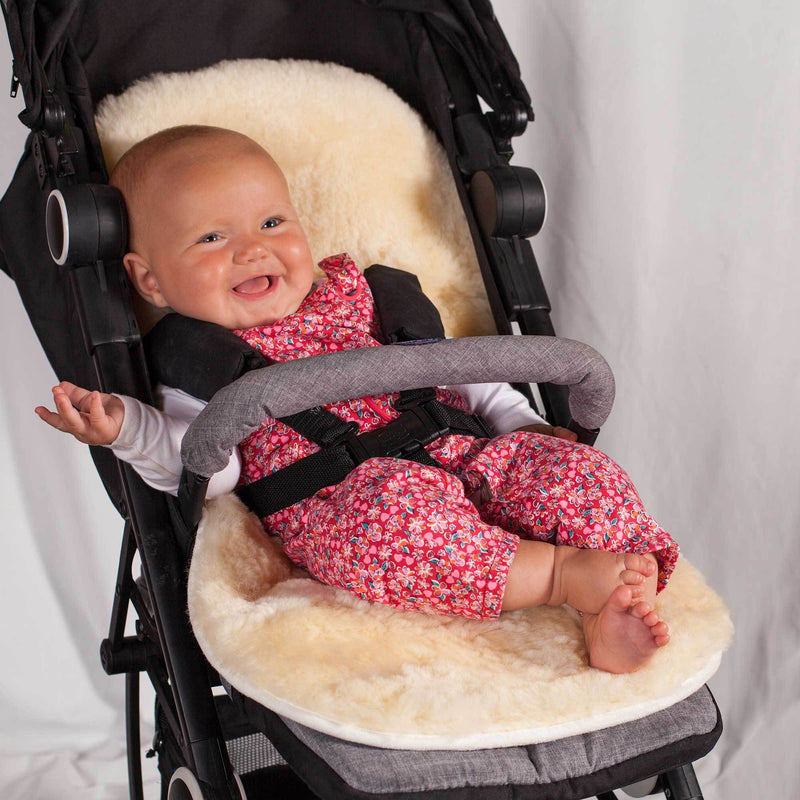 Large Sheepskin Pram Liner -  - SHEEPSKIN  from The Wool Company