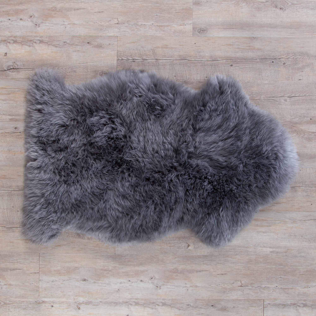 Light Slate Grey Sheepskin SHEEPSKIN The Wool Company