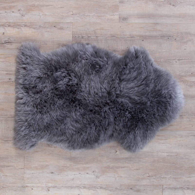 Buy Light Slate Grey Sheepskin From The Wool Company Online
