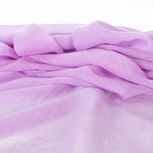 Lightweight Fine Wool Pashmina Lilac -  - CLOTHING  from The Wool Company