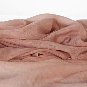 Lightweight Fine Wool Pashmina Taupe -  - CLOTHING  from The Wool Company