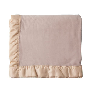 Lightweight Merino Blanket - Champagne / 230 x 185 cm Single - LUXURY BEDDING  from The Wool Company