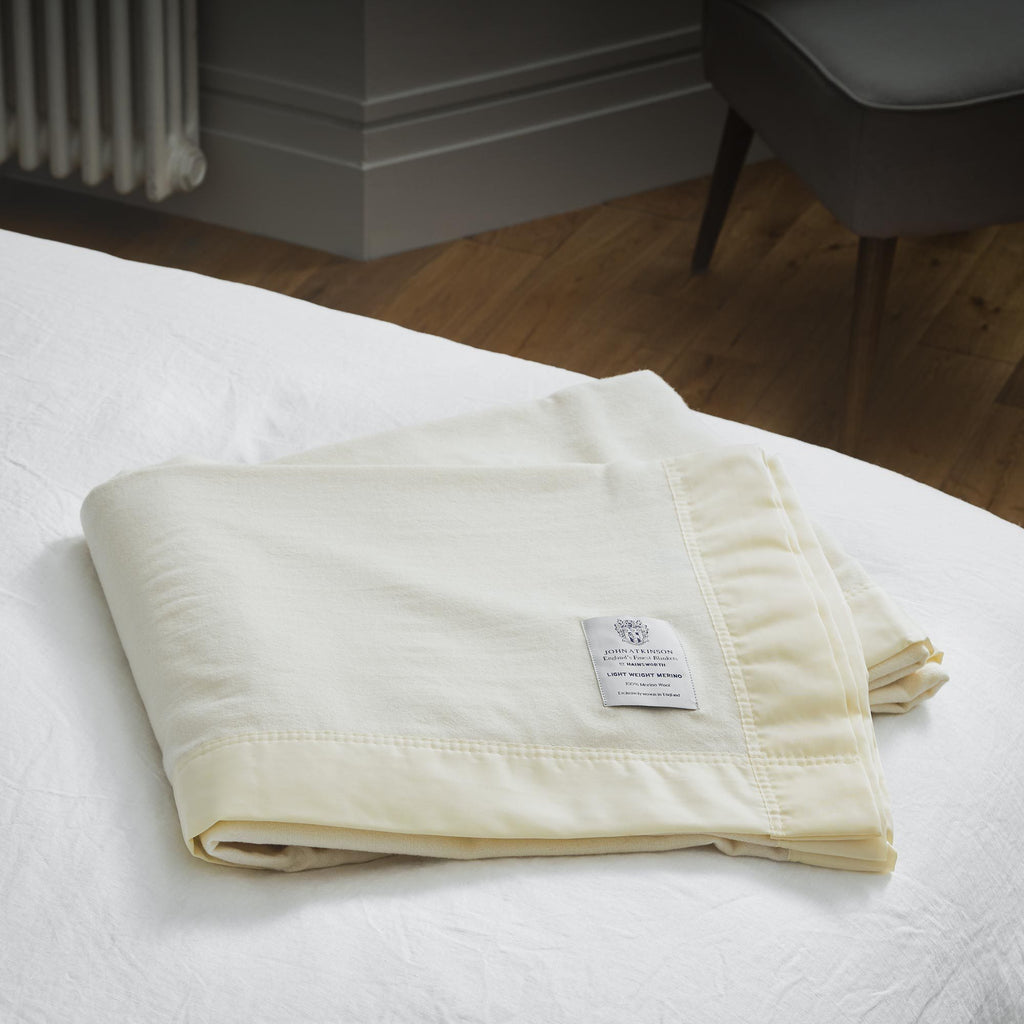 Buy Lightweight Merino Blanket From The Wool Company Online