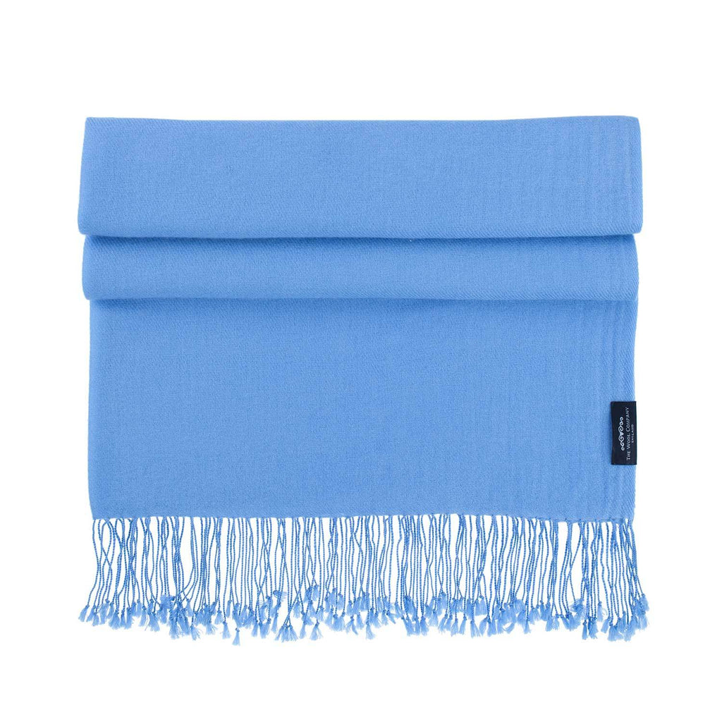 Luxury Pashmina Shawl Bluebird CLOTHING The Wool Company