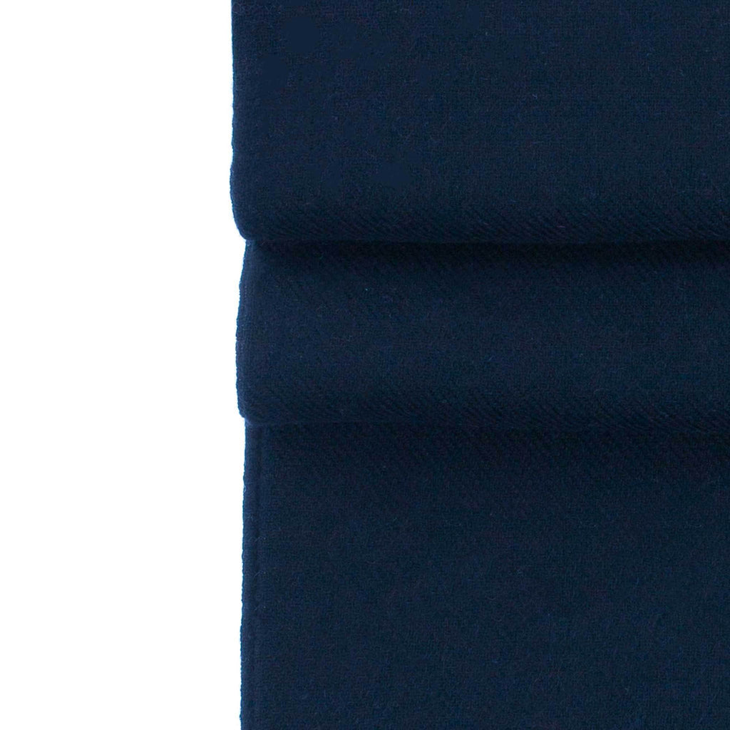 Luxury Pashmina Shawl Navy CLOTHING The Wool Company