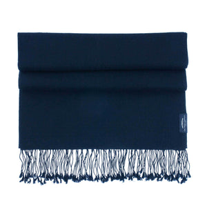 Luxury Pashmina Shawl Navy -  - CLOTHING  from The Wool Company