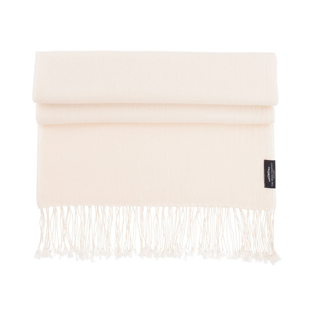 Buy Luxury Pashmina Shawl Nude From The Wool Company Online