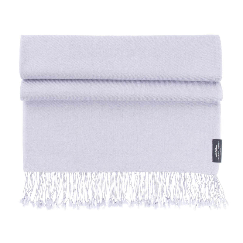 Buy Luxury Pashmina Shawl Pearl From The Wool Company Online