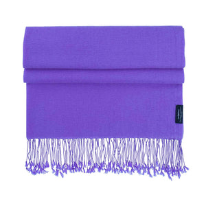 Buy Luxury Pashmina Shawl Wild Violet From The Wool Company Online