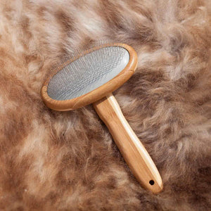 Buy Luxury Sheepskin Brush From The Wool Company Online