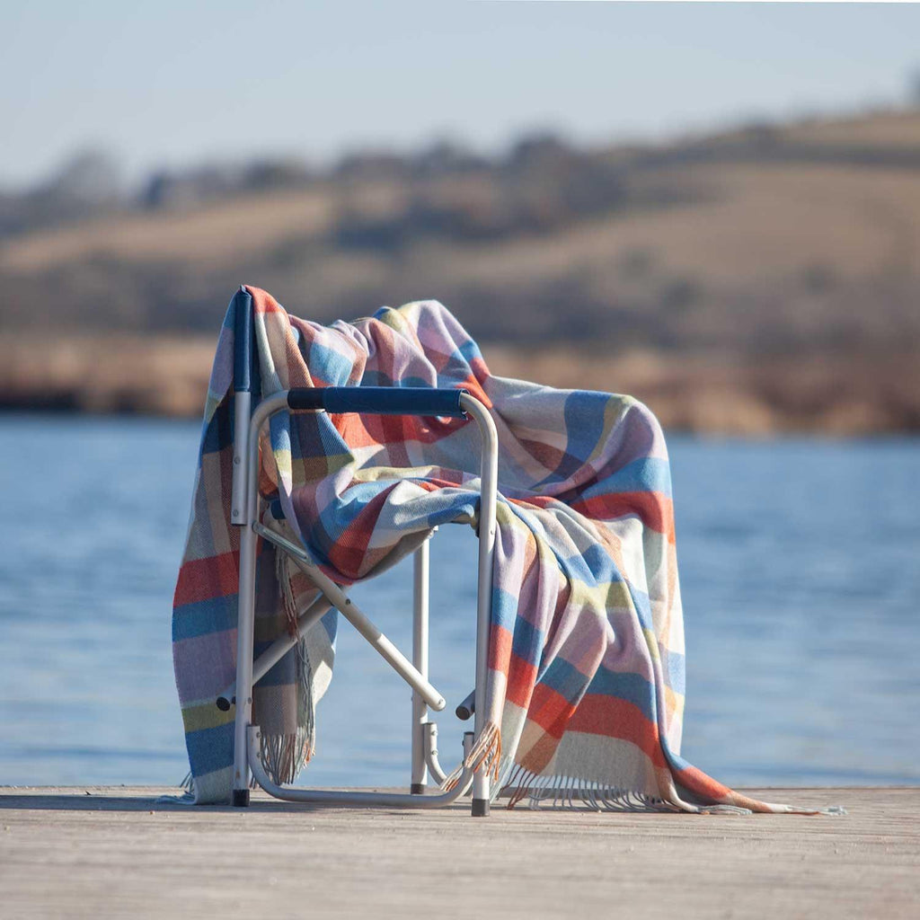 Merino Lambswool Blanket Summer -  - LIVING  from The Wool Company