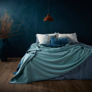Milan Merino Blanket -  - LUXURY BEDDING  from The Wool Company