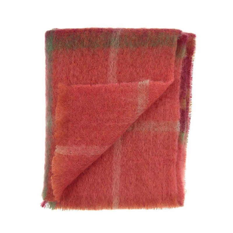 Buy Mohair Throw Autumn Leaves From The Wool Company Online