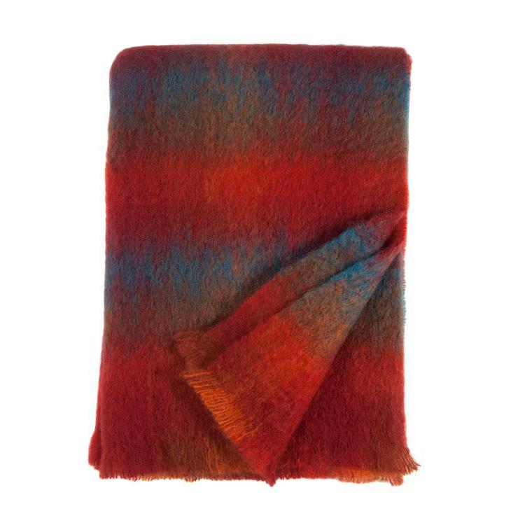 Mohair Throw Galway -  - LIVING  from The Wool Company