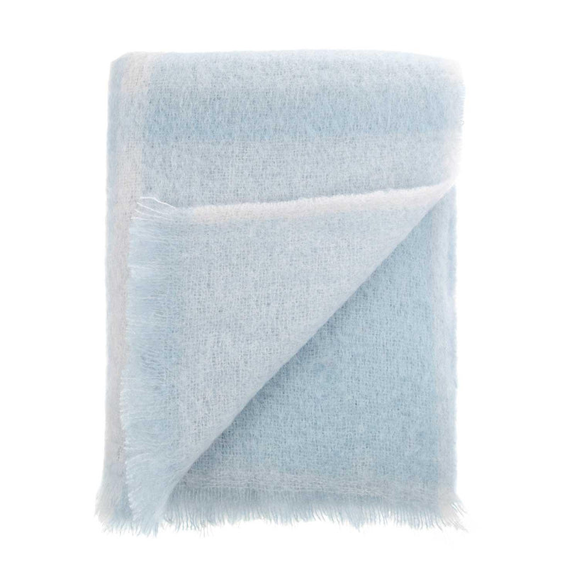 Buy Mohair Throw Morning Mist From The Wool Company Online