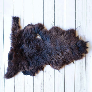Buy Natural Chocolate Economy Sheepskin Rugs From The Wool Company Online