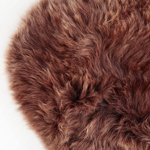 Buy Natural Chocolate Sheepskin From The Wool Company Online