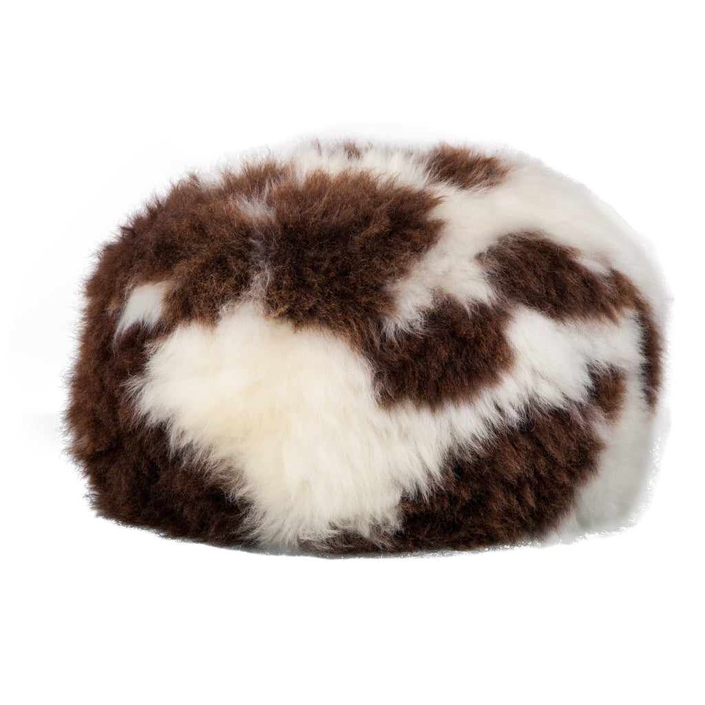 Natural Sheepskin Dumpling Footstool Jacobs -  - SHEEPSKIN  from The Wool Company