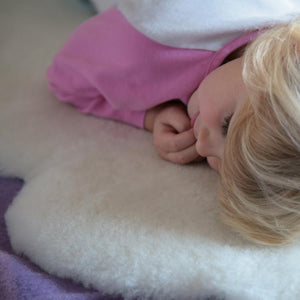 Buy Natural White Baby Sheepskin From The Wool Company Online