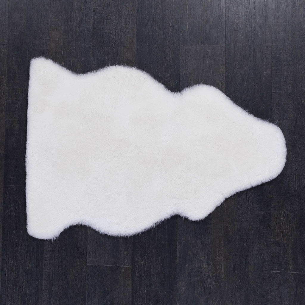 Natural White Baby Sheepskin -  - SHEEPSKIN  from The Wool Company