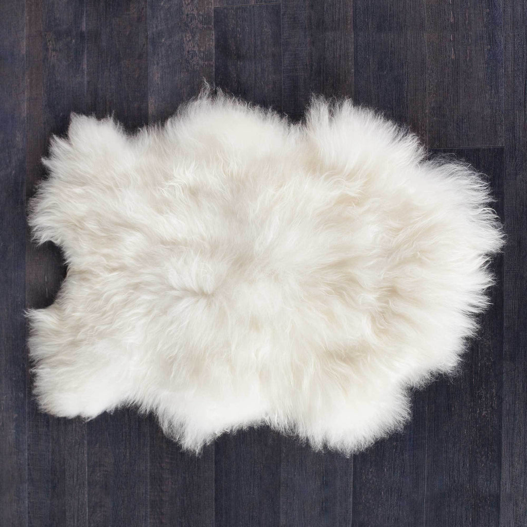 Natural White Icelandic Sheepskin -  - LIVING  from The Wool Company