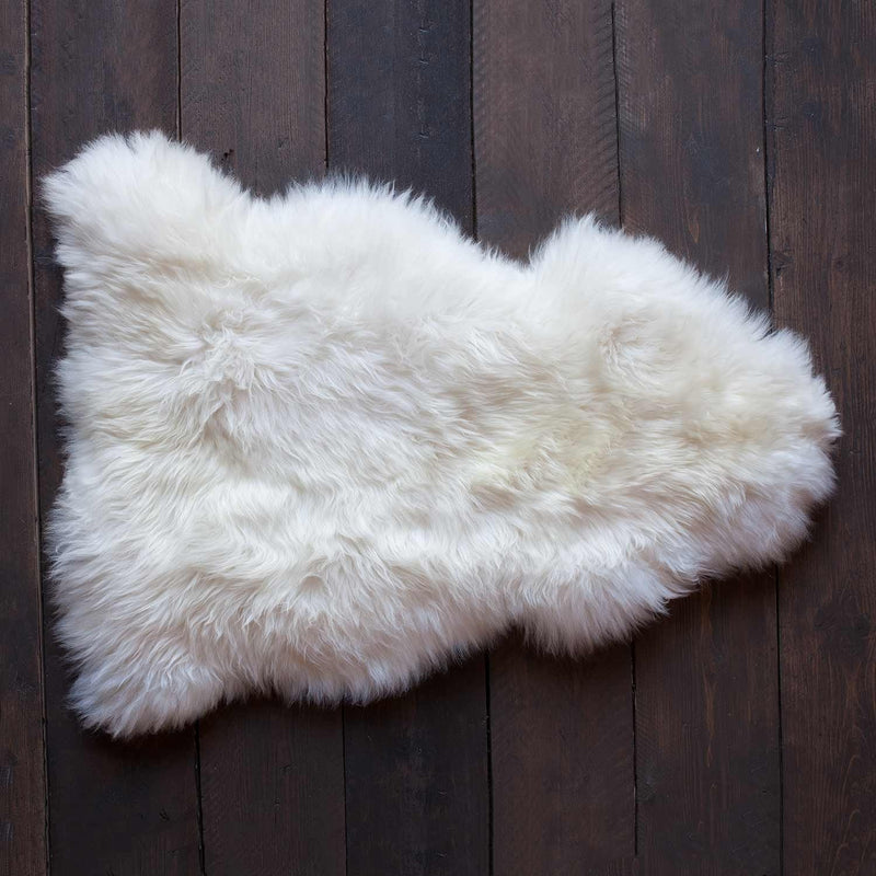 Natural White Sheepskin SHEEPSKIN The Wool Company