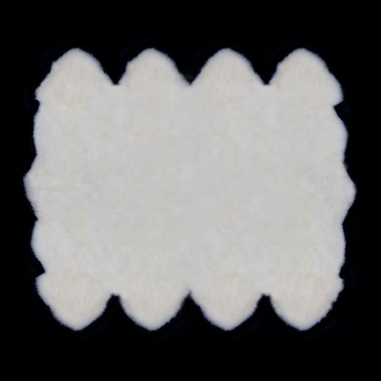 Octo Sheepskin - Natural White - SHEEPSKIN  from The Wool Company