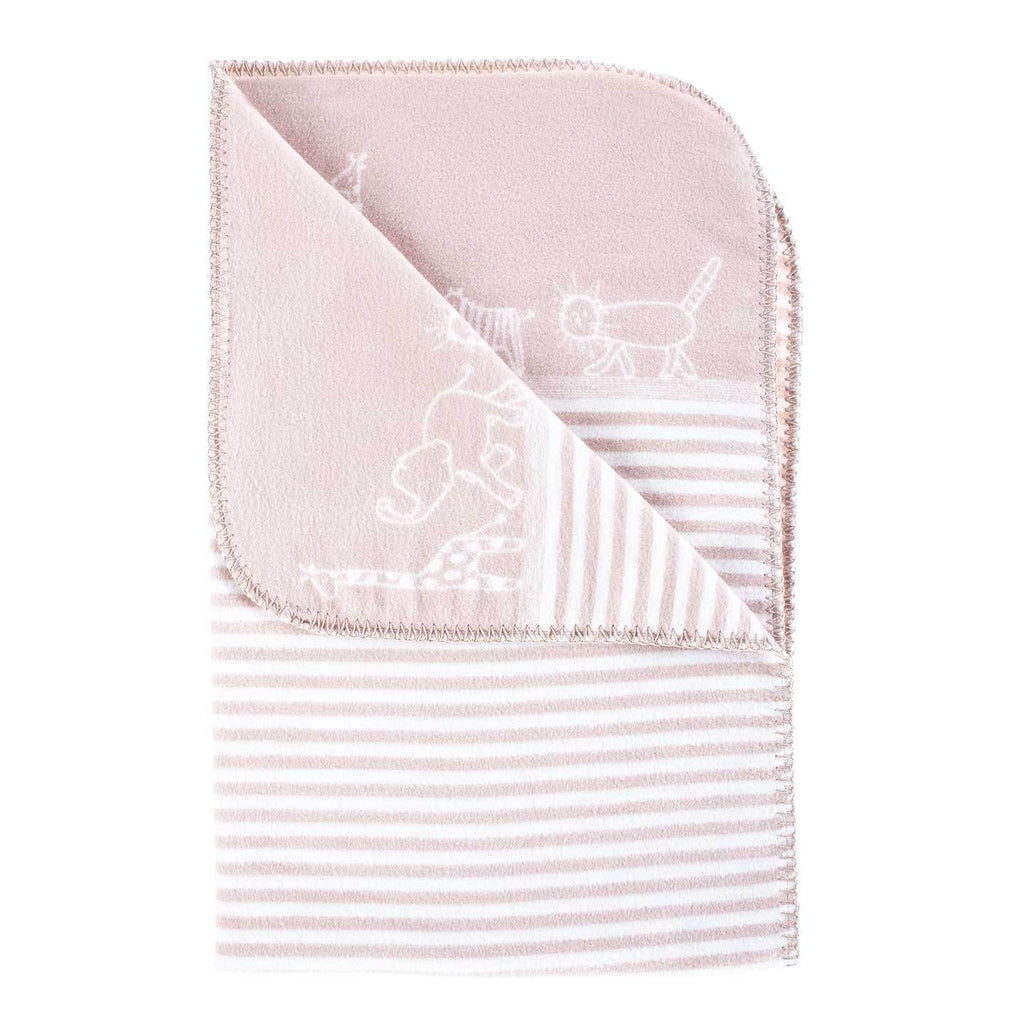 Organic Cotton Fleece Baby Blanket BABY The Wool Company