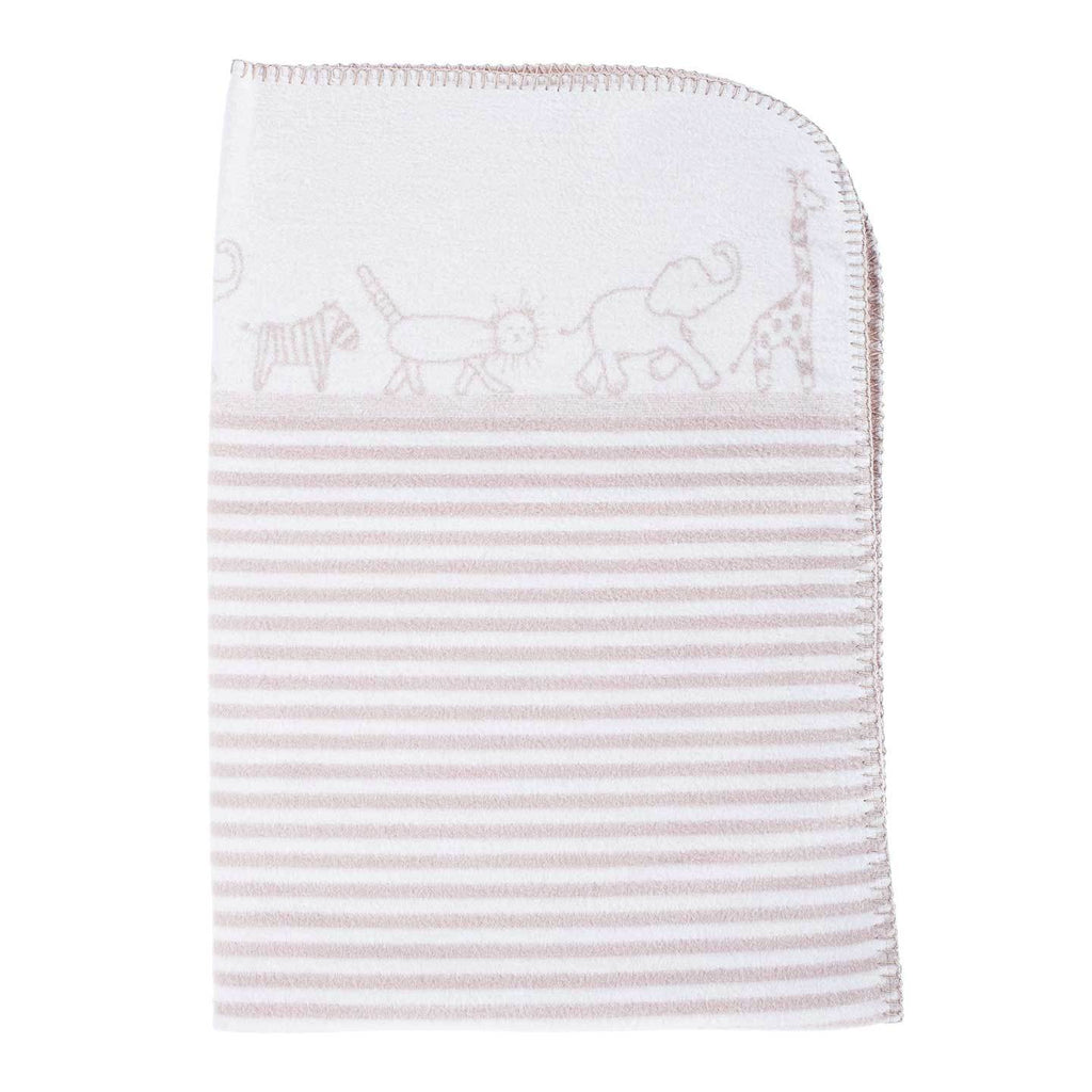 Buy Organic Cotton Fleece Baby Blanket From The Wool Company Online